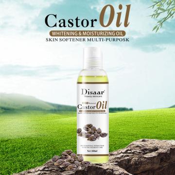100% Organic Castor Oil Natural Organic Coconut Oil Moisturizing Deep Relaxation Body Face Skin Care Massage Essential Oil 100ml