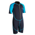 Seaskin Front Zip Boy's Diving Shorty Wetsuit