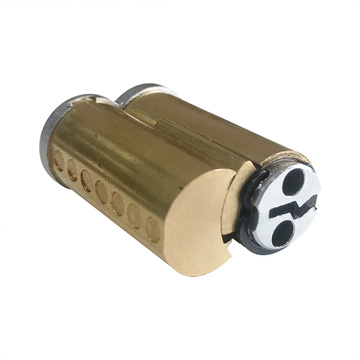 American Removable Brass 7PIN SFIC Door Lock Cylinder