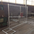 Chain Link Temporary Fence