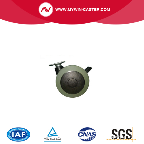 medical wheel chair iron caster