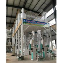 Large flour mill machine