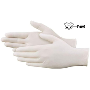 Medical disposable latex surgical glove