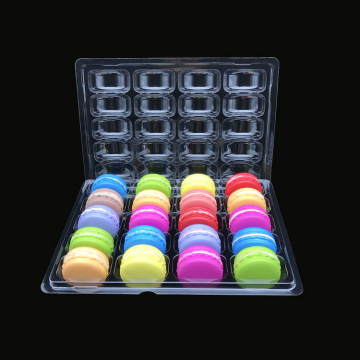 blister insert for 25 compartment macaron trays