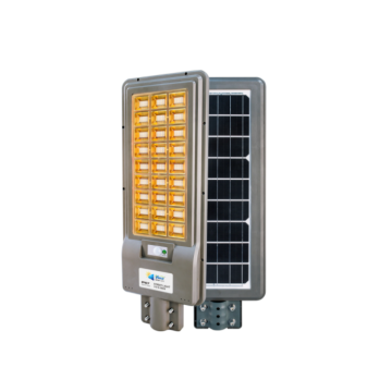 Outdoor sensor solar street light with remote control