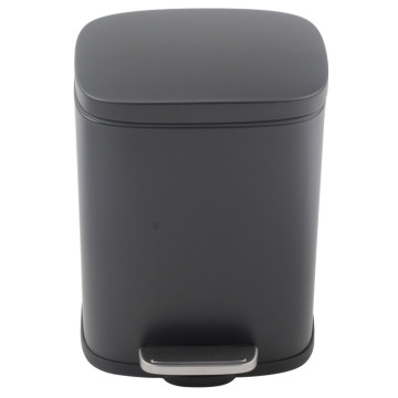 Stainless Steel Step Trash Can with Bucket