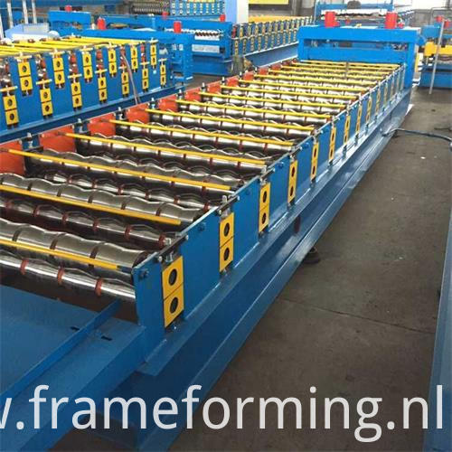 Color Steel Roofing Sheet Roll Forming Machine