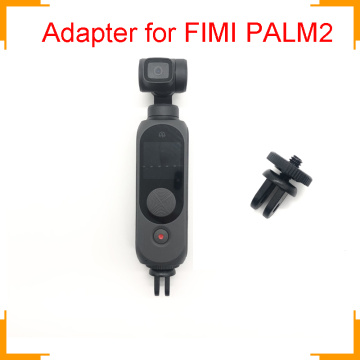 for FIMI Palm Universal Adapter Mount Mini Tripod Screw Mount accessory Fixing for Go Pro for YI for eken Sports Action Camera
