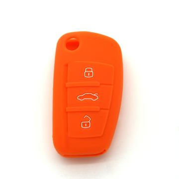 Silicone key cover case for Audi Q3