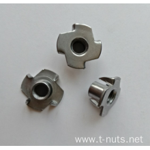 Standard 4Prongs Zinc Plated T-Nut