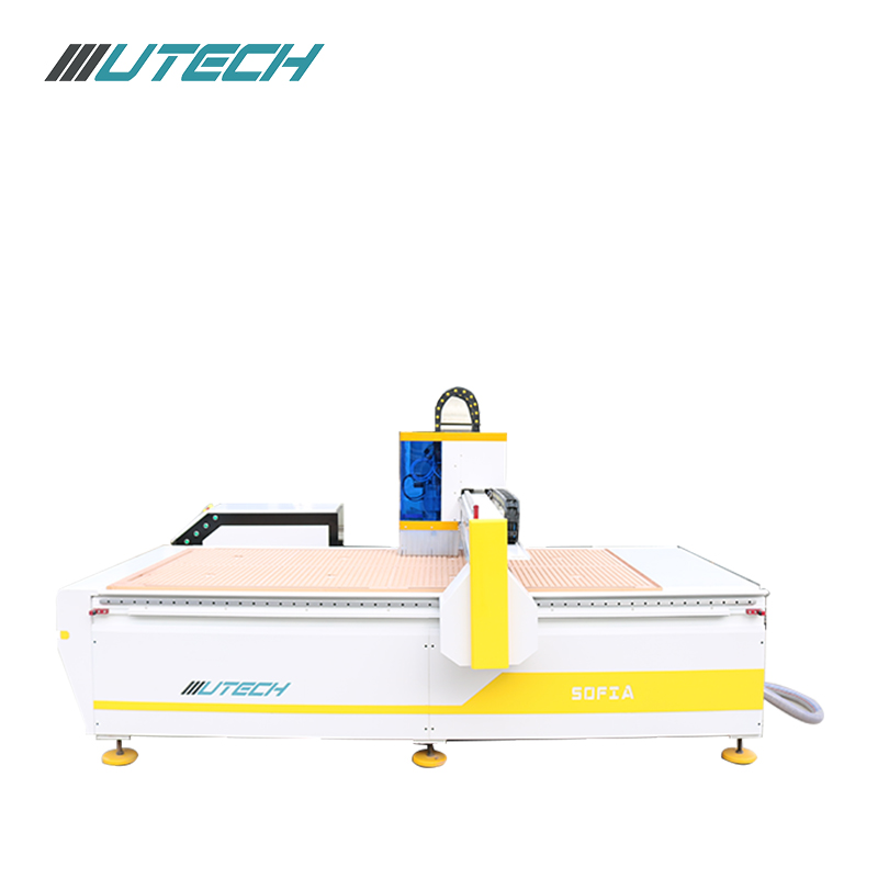 leather fabric cloth Oscillating knife cutting machine