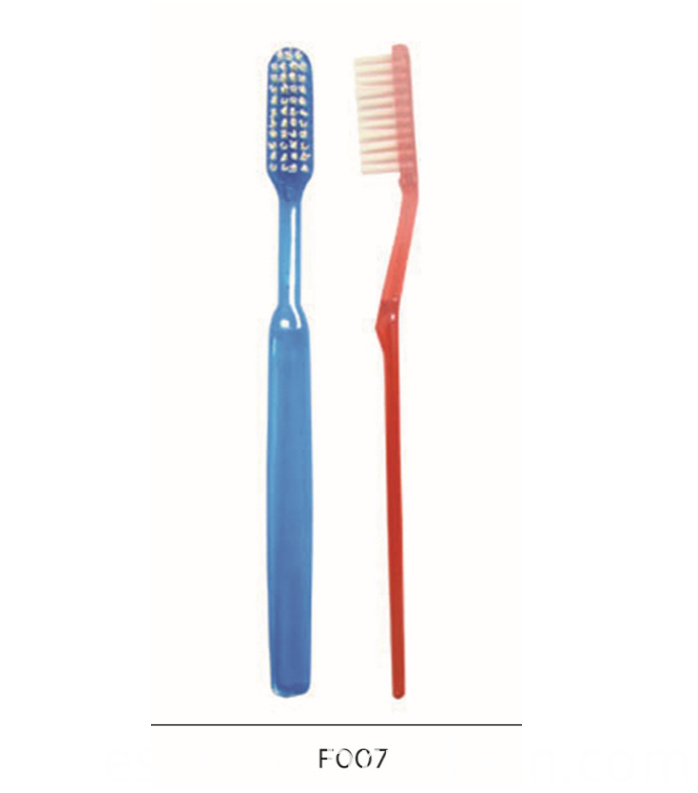 Color Soft Disposable Hotel Dental Good Toothbrush
