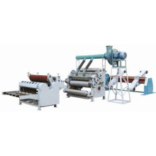 Single facer corrugated board production line