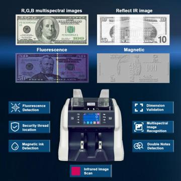 Multi Currency Mixed Denomination Bill Counter