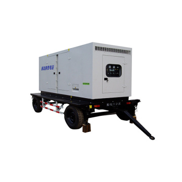 Water Cooling 150kw-200kw Soundproof Mobile Trailer Genset