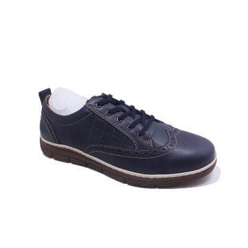 Rubber Outsole Genuine Office Leather Shoes