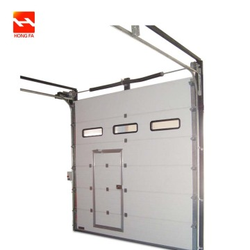 Auto Overhead Garage Door with Steel And Aluminum