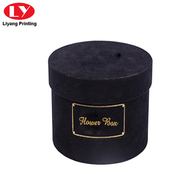 Black Velvet Flower Box