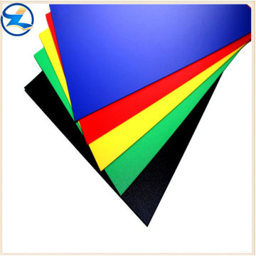 Rigid colored PP sheet films rolls for package