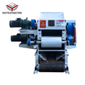 Waste carton shredder wood log chipper price