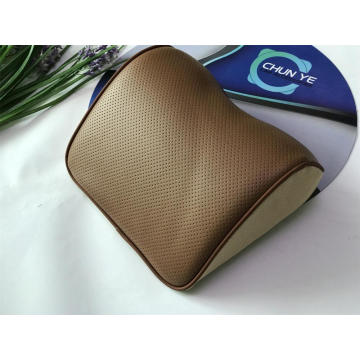Genuine Leather  Car Seat Pillow