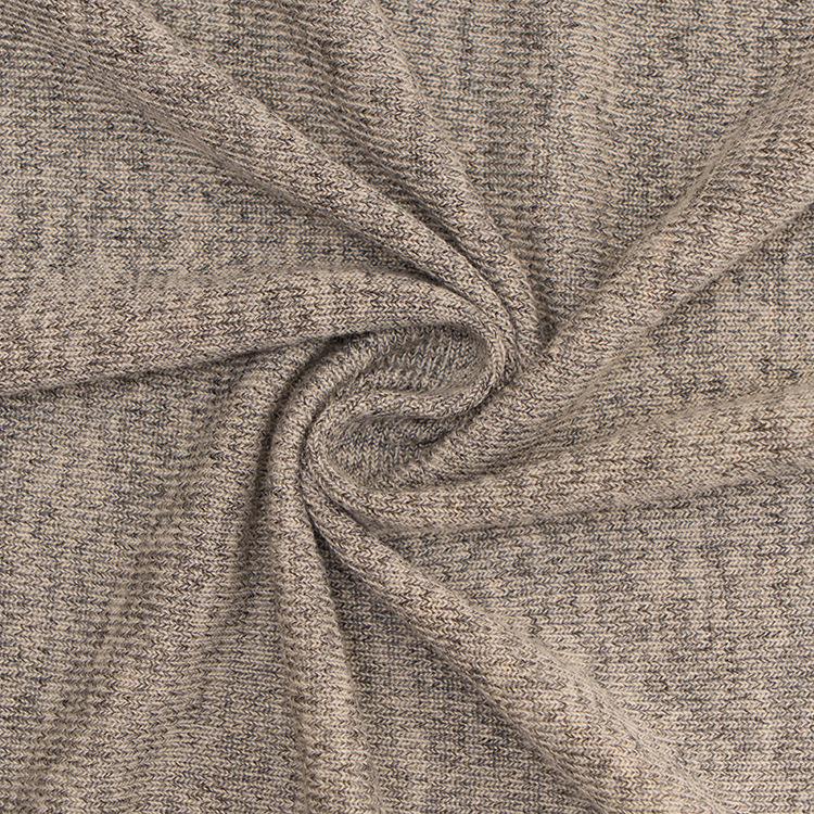 Cashmere Style Knit Fabric Hacci For Clothing Sweater