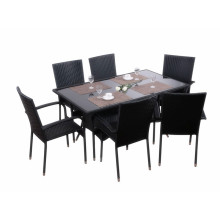 outdoor 5pc rattan dining set