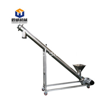 cheap flexible screw conveyor machine for salt