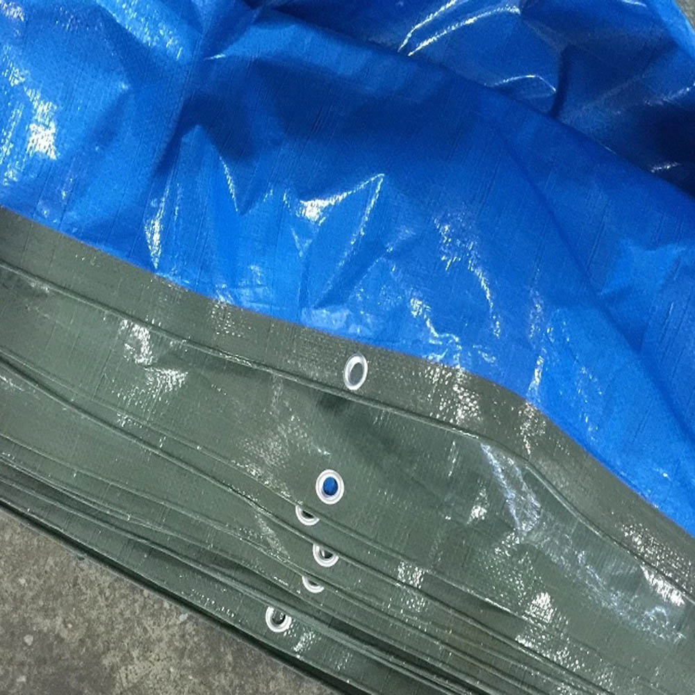 120gsm Blue Dark Green Medium Duty Tarpaulin