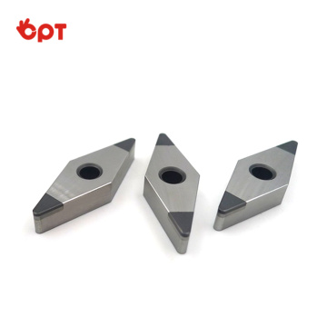 Coated CBN insert for hard turning