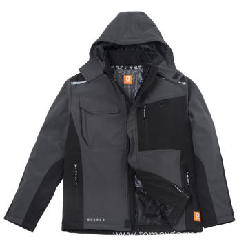 Water-repellent windproof and breathable Softshell Jacket
