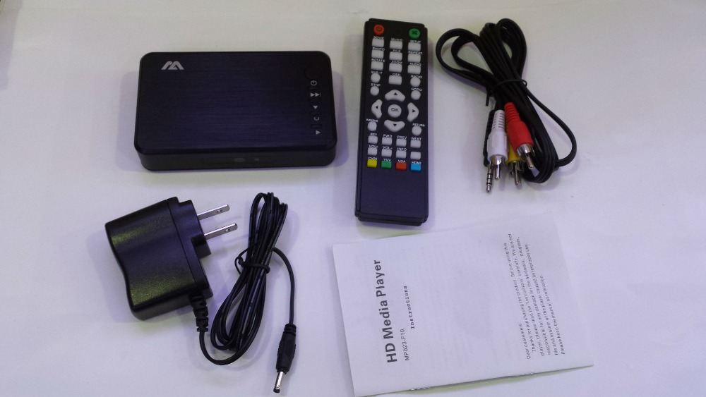 HDD Media Player 1080P USB External Hdd Media Player With HDMI VGA SD Support MKV H.264 RMVB WMV Media Player for car HDDK6