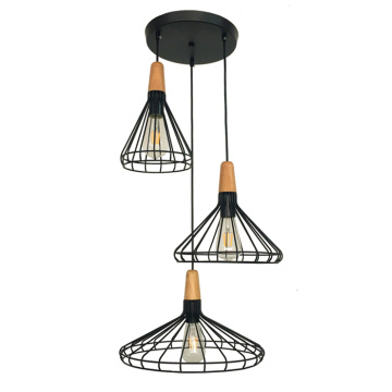 Nordic style home decoration lighting iron pendant lamp