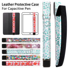 1PC Portable Leather Tablets Pen Bags Lightweight Shockproof Pencil Case Tablet Touch Covers Stylus Pen Cover Protective Pouch