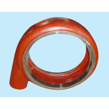high quality of centrifugal slurry pump spare parts-Volute casing /jacket