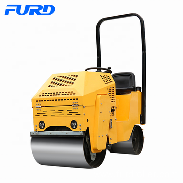 Mini asphalt roller soil compactor vibratory roller smooth drum roller for sale FYL-860