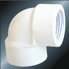 BS4346 Water Supply Upvc Female Thread Elbow White