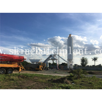 25 Mobile Concrete Batching Station For Sale