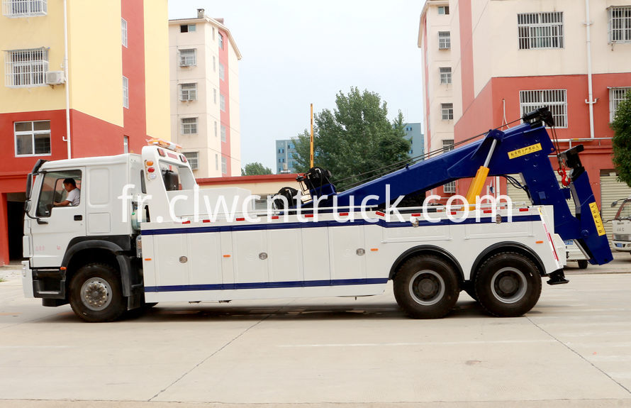 howo heavy duty towing truck 1