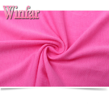 Jersey Dyed Stretch Recycled Polyester Spandex Fabric