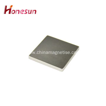 N45 Square Rare Earth Permanent Neodymium Magnet