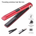 Rchargeable hair flat iron