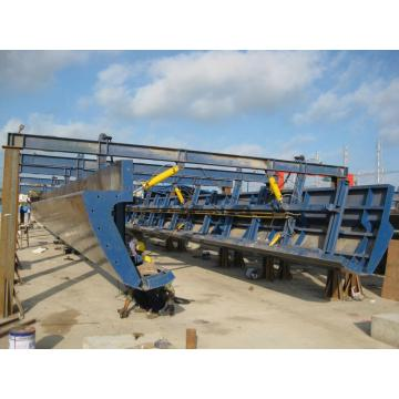 Groove Shape Beam Formwork for Bridge Construction