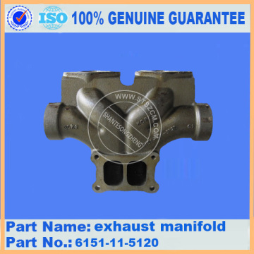 PC400-7 EXHAUST MAINFOLD 6151-11-5120