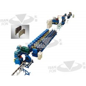 Aluminum Downspout Water Gutter Roll Forming Machine