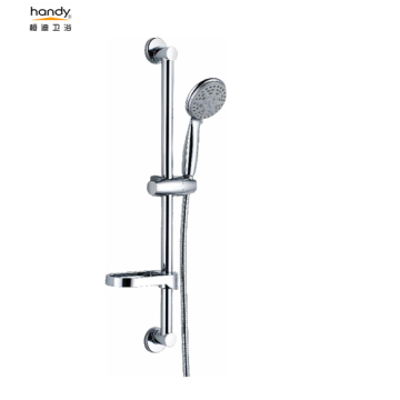 Bathroom In-Wall Mounted Shower Set With Sliding Bar