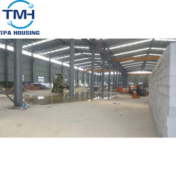 fast assembling Workshop Industrial Steel Structure