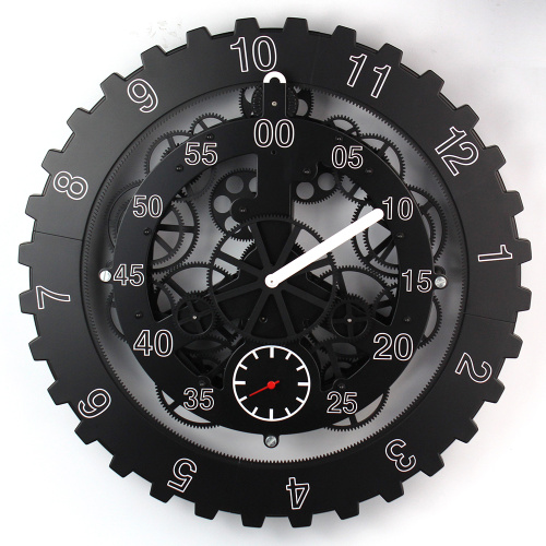 Metal Big Gear Wall Clock