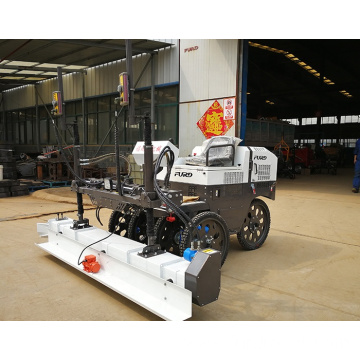 Six-wheel hydraulic motor drive laser concrete screed machine for sale FJZP-200