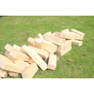 Wood Block Toppling Tower